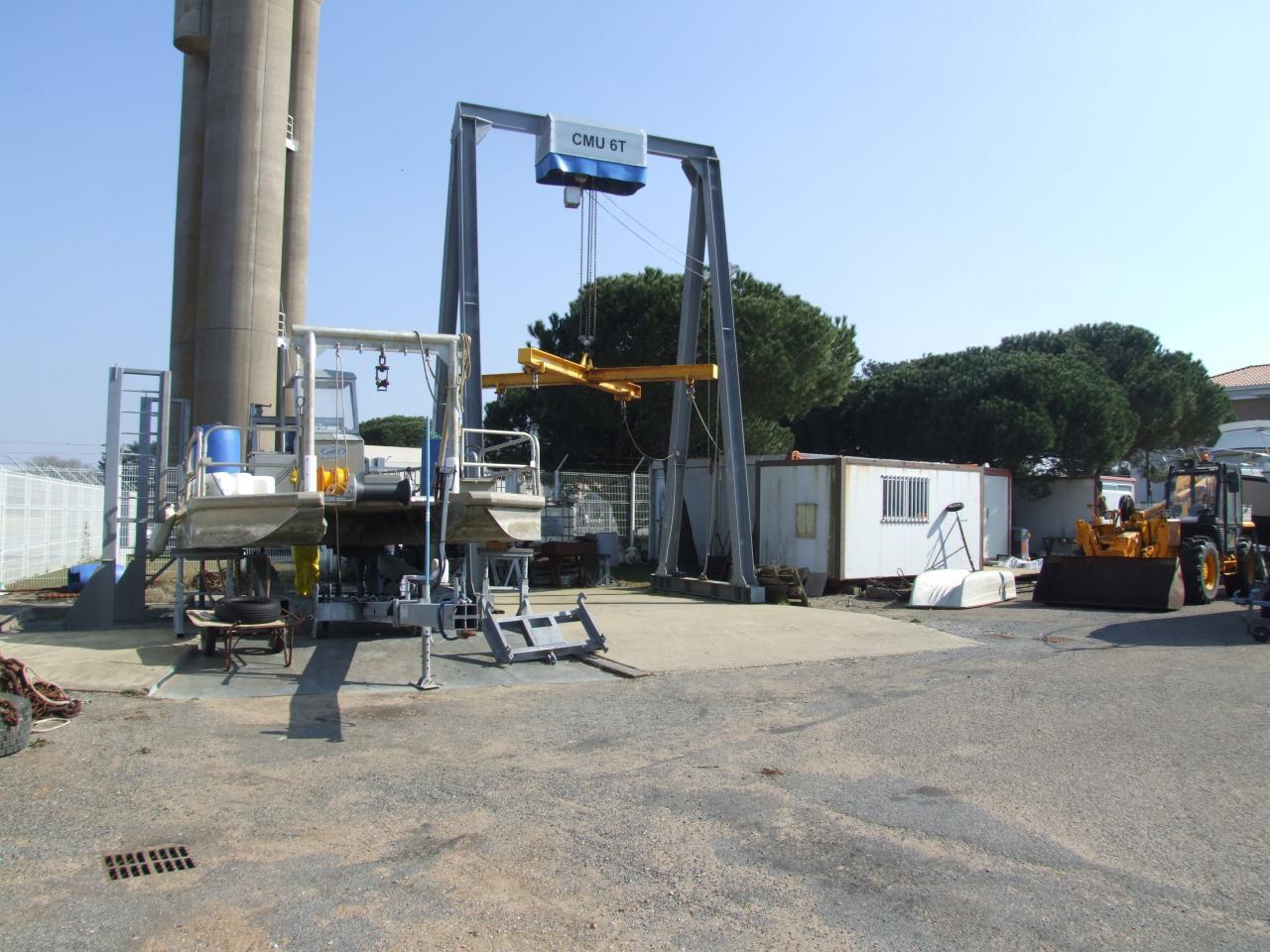 Nos installations - la barge