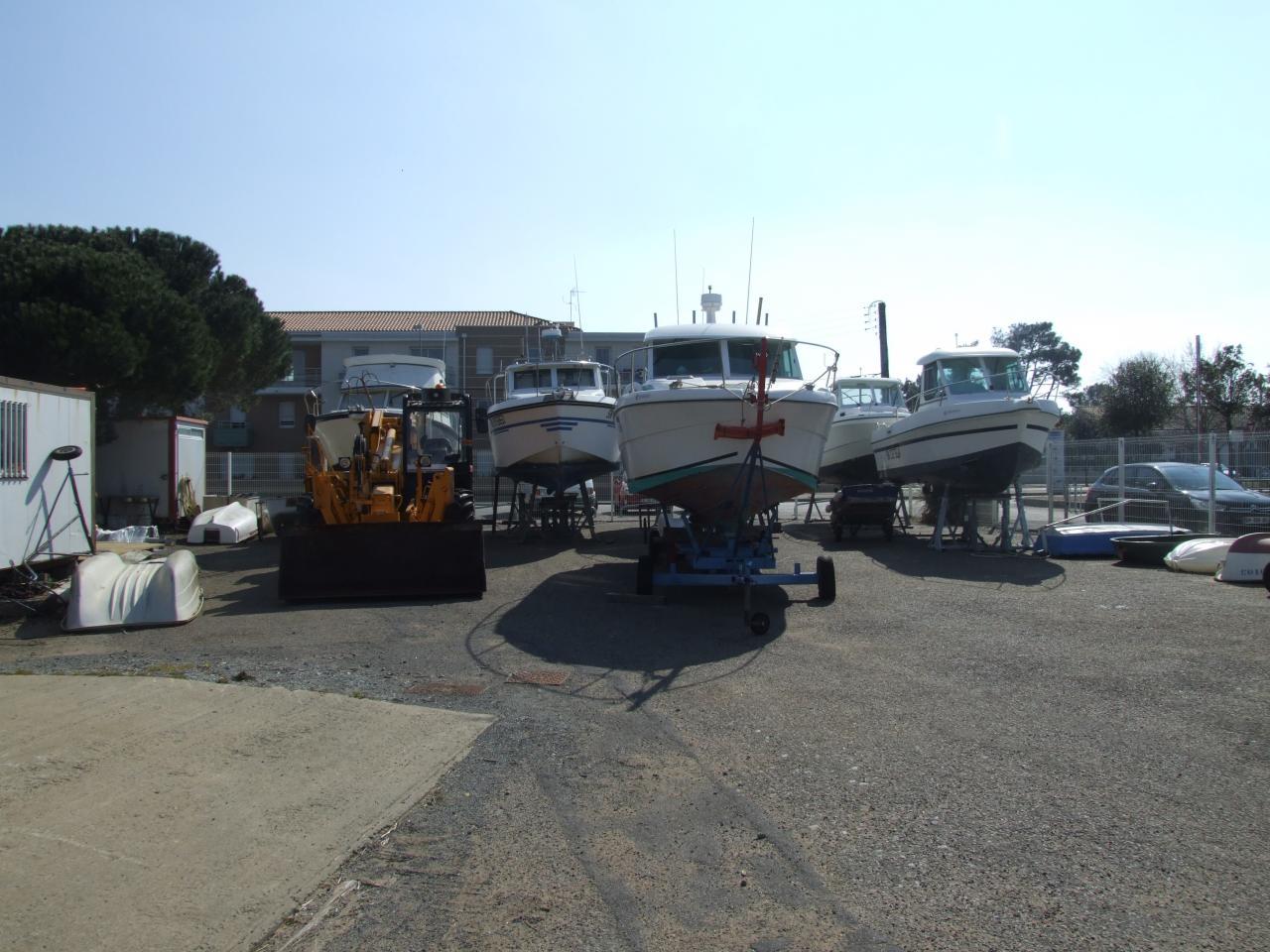 Le parc à bateaux